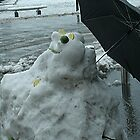 naked snowman by imagegrabber