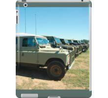 Landrovers iPad Case/Skin
