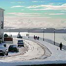 MILFORD HAVEN, THE RATH AFTER A VERY RARE SNOW FALL by kfbphoto