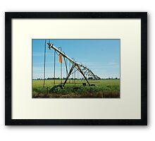 irrigation Framed Print