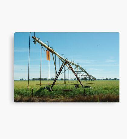 irrigation Canvas Print