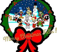 LOONEY TOONEY CHRISTMASOONEY by popcultchart