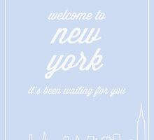 Welcome To New York by daurizion