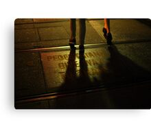 Foot Traffic Canvas Print