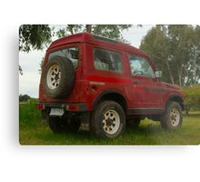 Old Holden Drover Metal Print