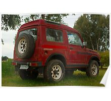 Old Holden Drover Poster