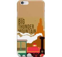 Big Thunder Mountain Poster iPhone Case/Skin