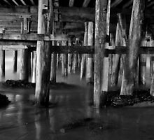 Under the Wharf by TimCatteraPhoto