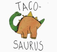 Tacosaurus by nickeybird