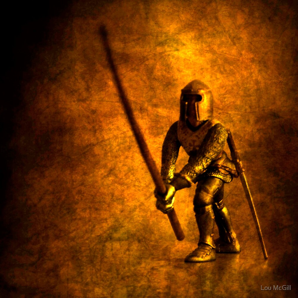 Courteoust Knight by Lou McGill