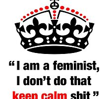 I am a feminist by TheKooriWoman