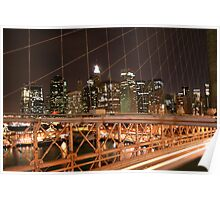 View from Brooklyn Bridge Poster