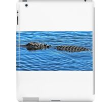 Cruising gator iPad Case/Skin