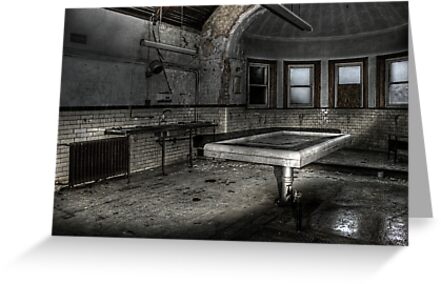 Slab and morgue by Richard Shepherd