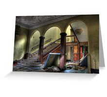 Arched Stairway Greeting Card