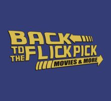 Back to the Flick Pick - Yellow Logo by JohnFlickster