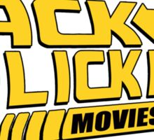 Back to the Flick Pick - Yellow Logo Sticker