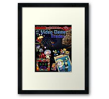 VGT Issue #23 (Winter 2012) Cover Framed Print