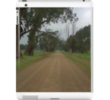Lonely country road iPad Case/Skin