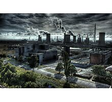 Industrial Apocalypse Photographic Print
