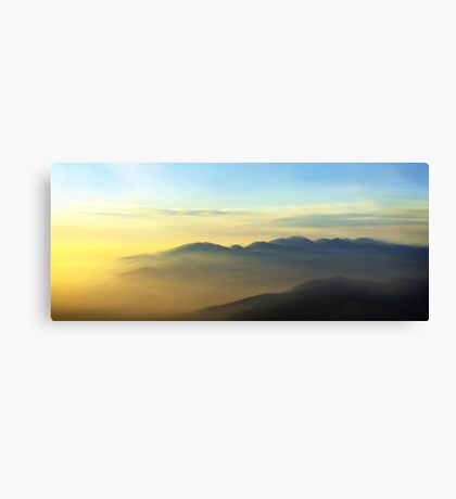 Southern California Sunset Canvas Print