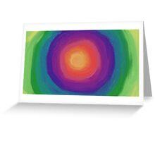 Round and Round Greeting Card