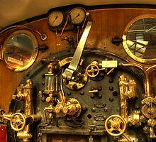 Train Controls by Richard Shepherd