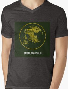 MGS peace walker minimalist logo Mens V-Neck T-Shirt