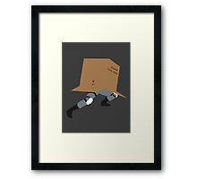 Snake In A Box Framed Print