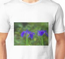 Purple water plant Unisex T-Shirt