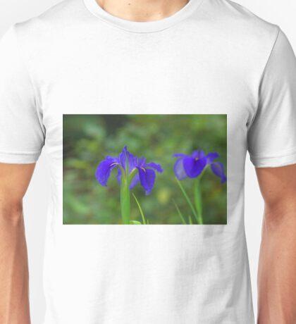 Purple water plant Unisex T-Shirt