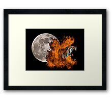 Birth Of The Tiger Framed Print
