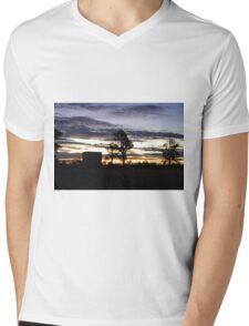 Early sunset Mens V-Neck T-Shirt