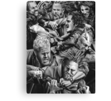 sons of anarchy Canvas Print