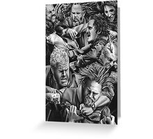 sons of anarchy Greeting Card