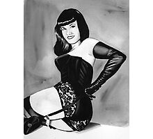bettie page Photographic Print