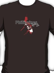 Philippines Diving Diver Flag Map T-Shirt
