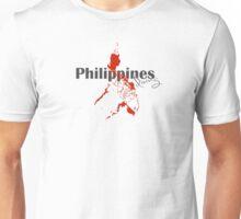 Philippines Diving Diver Flag Map Unisex T-Shirt