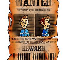MOTHER 3 Wanted Poster by FoxiFyer