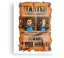 MOTHER 3 Wanted Poster Metal Print