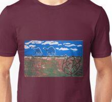 Ephemeral camels on the Canning Unisex T-Shirt