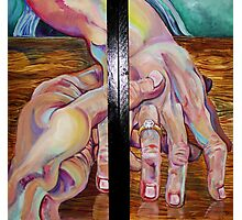 Affinity Diptych (Oils)- Photographic Print