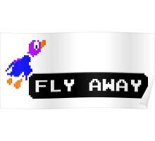 Flyaway Duck Poster