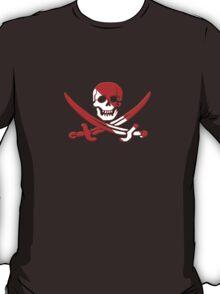 Scuba Diving Pirate Skull and Swords T-Shirt