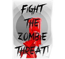 Human VS Zombies - Anti-Zombie Propaganda Poster