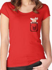 Pocket Titan Women's Fitted Scoop T-Shirt