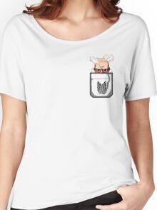 Pocket Titan Women's Relaxed Fit T-Shirt