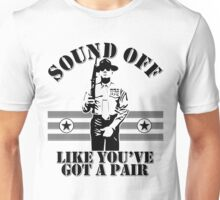 Sound Off Unisex T-Shirt