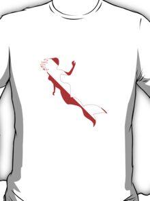 Mermaid Scuba Diver Silhouette T-Shirt