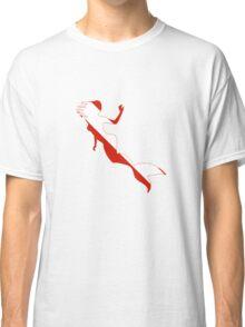 Mermaid Scuba Diver Silhouette Classic T-Shirt